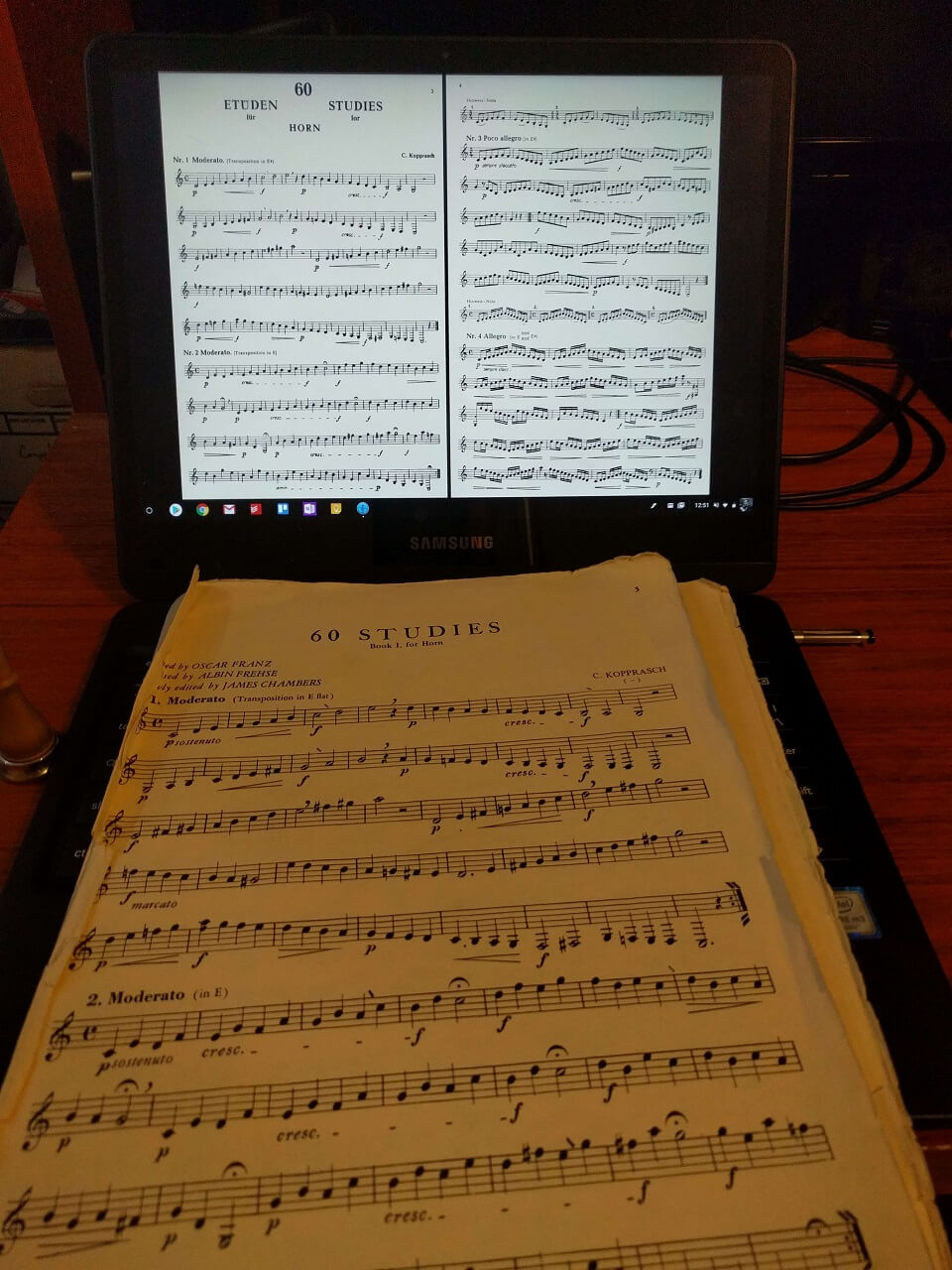 samsung pro music and stylus